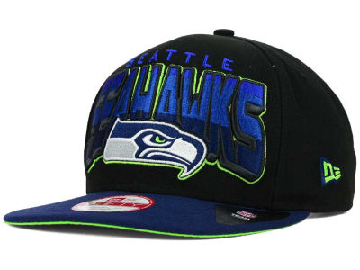 Seattle Seahawks New Era NFL All Colors 9FIFTY Snapback Cap