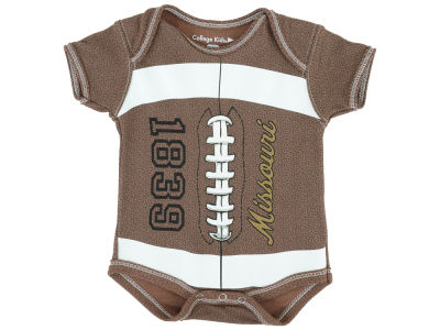 Missouri Tigers NCAA Newborn MVP Football Creeper