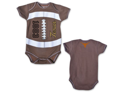 Texas Longhorns NCAA Infant MVP Football Creeper