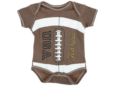 Georgia Bulldogs NCAA Infant MVP Football Creeper