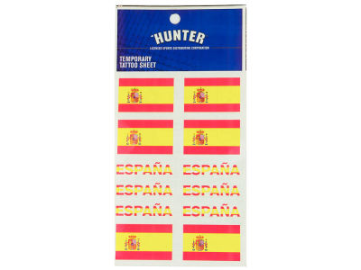 Spain World Cup Tattoo Sheet