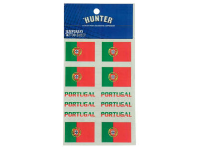 Portugal World Cup Tattoo Sheet