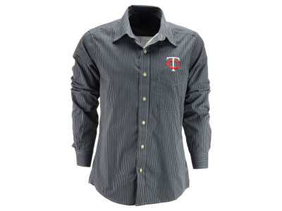 Minnesota Twins MLB Men's Republic Button Up Woven Shirt