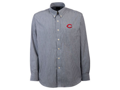 Cincinnati Reds MLB Men's Republic Button Up Woven Shirt