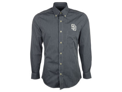 San Diego Padres MLB Men's Republic Button Up Woven Shirt