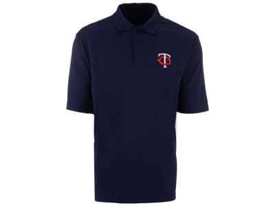 Minnesota Twins MLB Men's Pique Extra Lite Polo Shirt