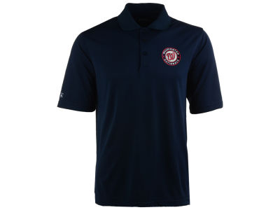 Washington Nationals MLB Men's Pique Extra Lite Polo Shirt