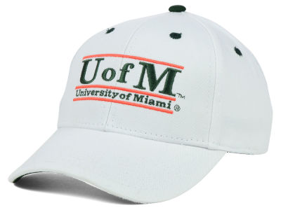 Miami Hurricanes NCAA Classic Game 3 Bar Cap