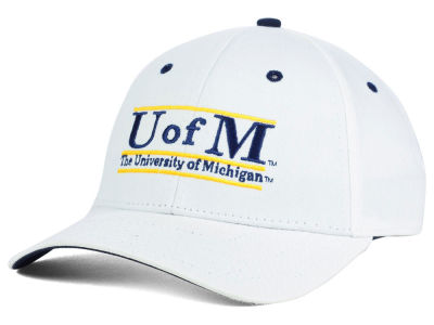 Michigan Wolverines NCAA Classic Game 3 Bar Cap