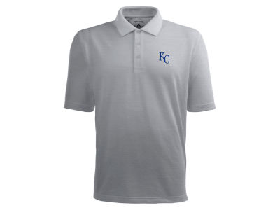 Kansas City Royals Antigua MLB Men's Pique Extra Lite Polo Shirt