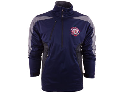 Washington Nationals MLB Men's Discover Half Zip Jacket
