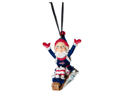Washington Capitals Sledding Elf Ornament