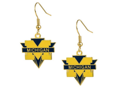 Michigan Wolverines Dangle Earrings
