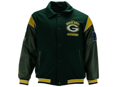 Green Bay Packers NFL Men's Super Bowl Champs Jacket