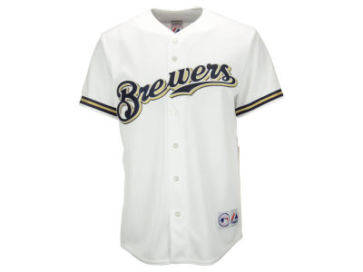 Milwaukee Brewers MLB Men's Blank Replica Jersey