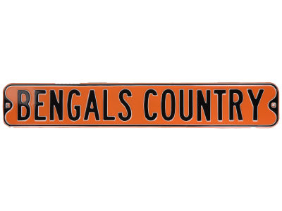 Cincinnati Bengals Authentic Street Sign