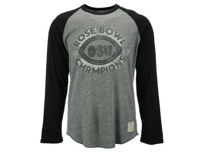 Ohio State Buckeyes NCAA Men's Rose Bowl Champions Long Sleeve T-Shirt