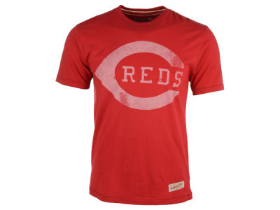 Cincinnati Reds MLB Men's Gradient Script Tailored T-Shirt