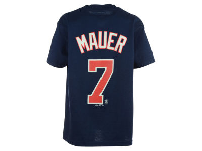 Minnesota Twins Joe Mauer MLB Youth Player T-Shirt