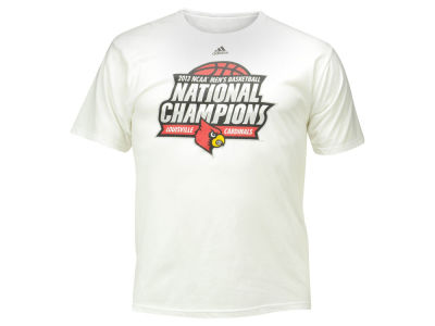 Louisville Cardinals adidas NCAA Men's 2013 National Champs T-Shirt