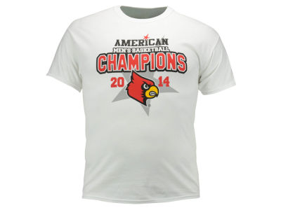 Louisville Cardinals NCAA Men's American Conference Champs T-Shirt