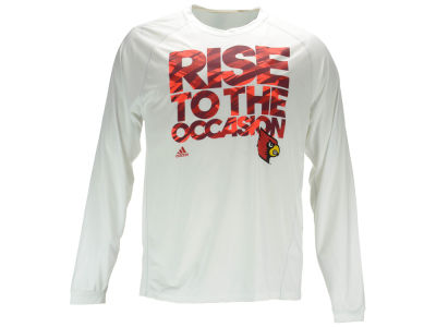 Louisville Cardinals adidas NCAA Men's Rise to the Occasion Long Sleeve T-Shirt