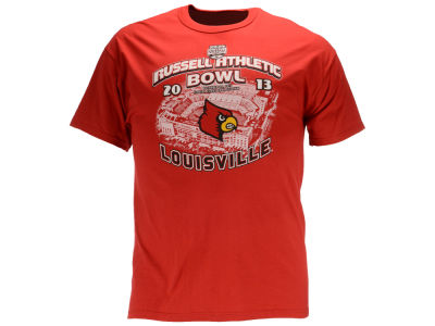 Louisville Cardinals NCAA 2013 Men's Russel Bowl T-Shirt