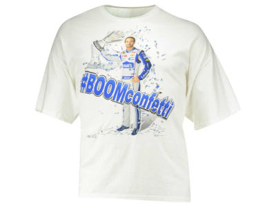 Jimmie Johnson NASCAR Men's Boom Confetti T-Shirt