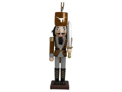 Texas Longhorns Nutcracker Ornament