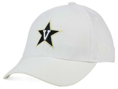 Vanderbilt Commodores Top of the World NCAA White PC Cap