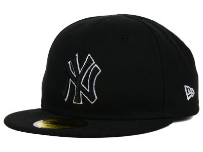New York Yankees New Era MLB Youth My First Black/White 59FIFTY Cap