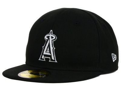 Los Angeles Angels New Era MLB Youth My First Black/White 59FIFTY Cap