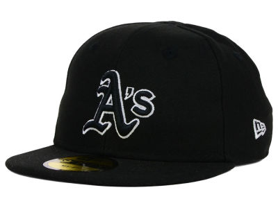 Oakland Athletics New Era MLB Youth My First Black/White 59FIFTY Cap