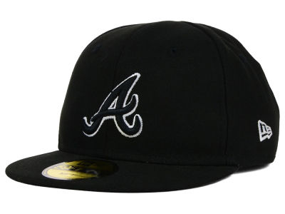 Atlanta Braves New Era MLB Youth My First Black/White 59FIFTY Cap