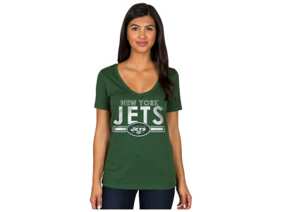 New York Jets Authentic NFL Apparel NFL Women's Endzone T-Shirt