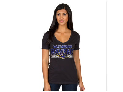 Baltimore Ravens Authentic NFL Apparel NFL Women's Endzone T-Shirt