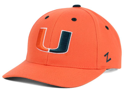 Miami Hurricanes Zephyr NCAA Competitor Hat