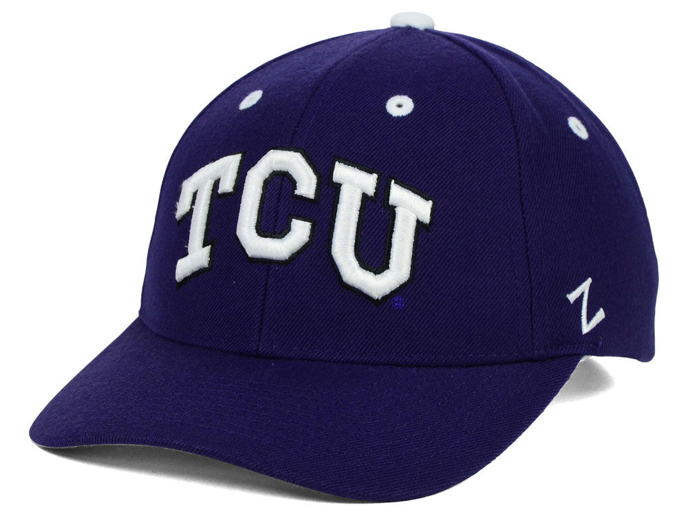 reputable site 51982 b4b8a canada texas christian horned frogs zephyr ncaa competitor hat b8afb 7aee7