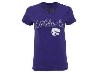 Kansas State Wildcats NCAA Women's We Sparkle Rhinestone T-Shirt