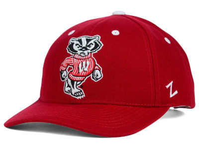 Wisconsin Badgers Zephyr NCAA Competitor Hat