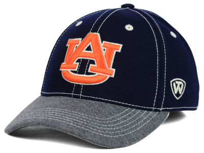 Auburn Tigers Top of the World NCAA D'Up Stretch Cap