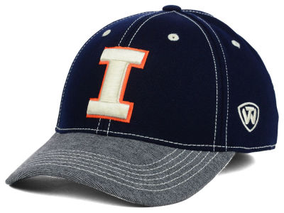 Illinois Fighting Illini Top of the World NCAA D'Up Stretch Cap