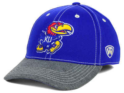 Kansas Jayhawks Top of the World NCAA D'Up Stretch Cap
