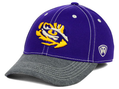 LSU Tigers Top of the World NCAA D'Up Stretch Cap