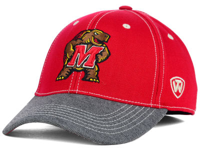 Maryland Terrapins Top of the World NCAA D'Up Stretch Cap