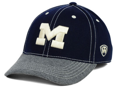 Michigan Wolverines Top of the World NCAA D'Up Stretch Cap