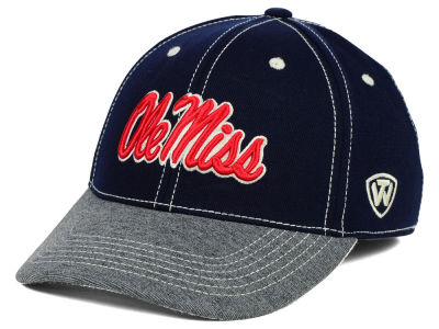 Ole Miss Rebels Top of the World NCAA D'Up Stretch Cap