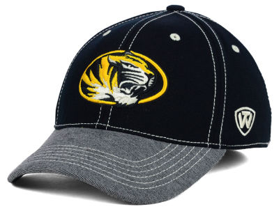 Missouri Tigers Top of the World NCAA D'Up Stretch Cap