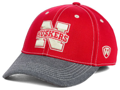Nebraska Cornhuskers Top of the World NCAA D'Up Stretch Cap