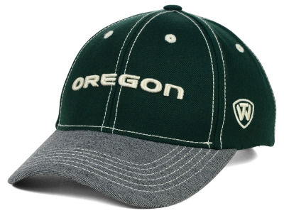 Oregon Ducks Top of the World NCAA D'Up Stretch Cap